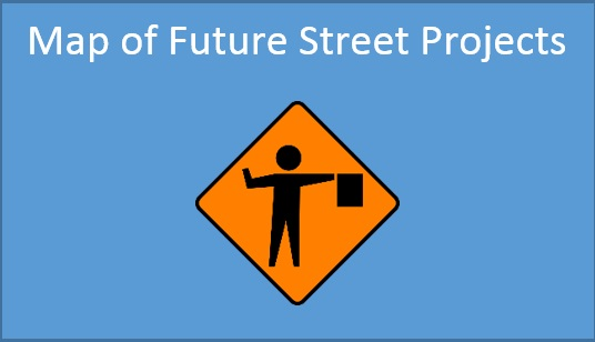 Map of Future Street Projects