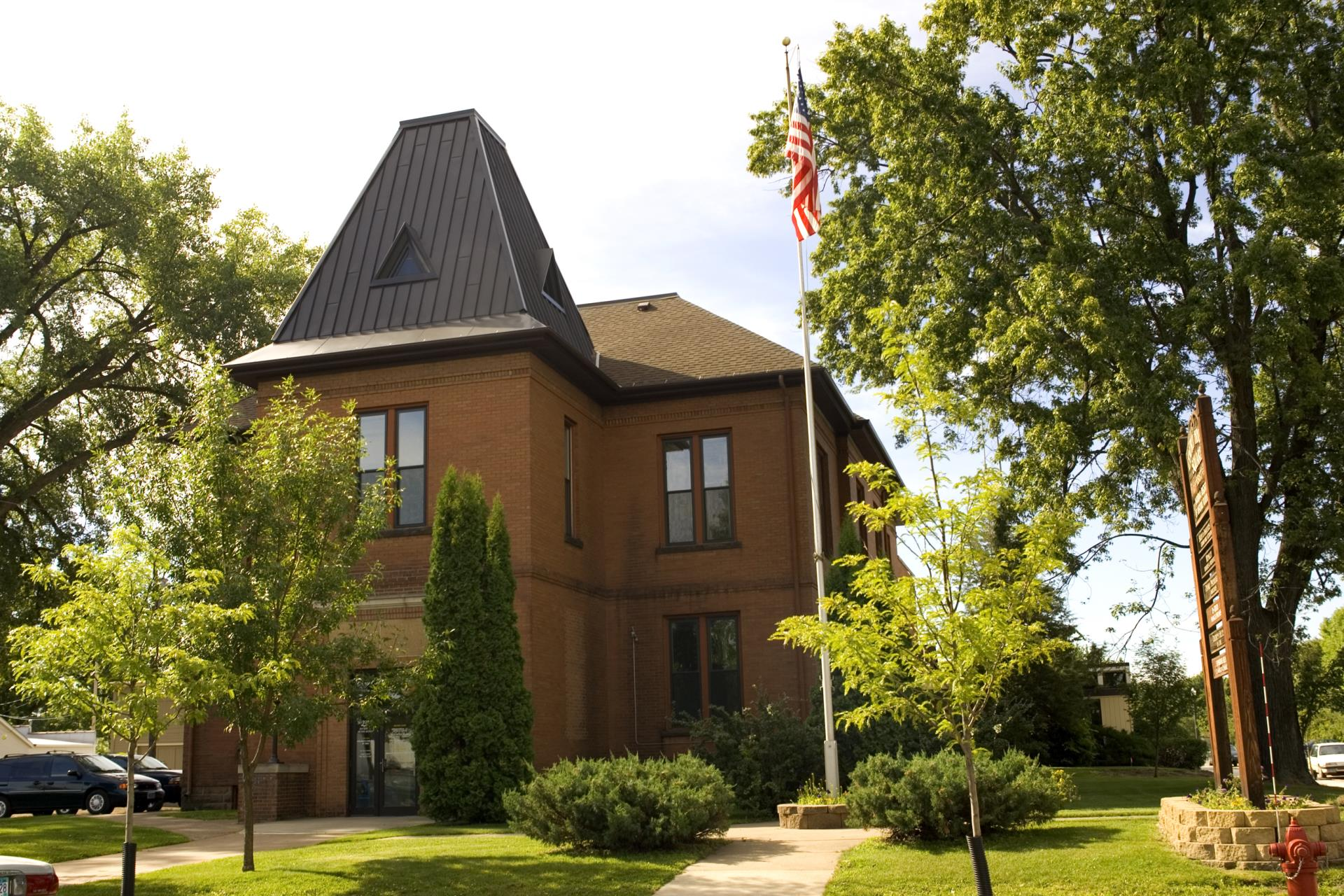 Historical County Courthouse