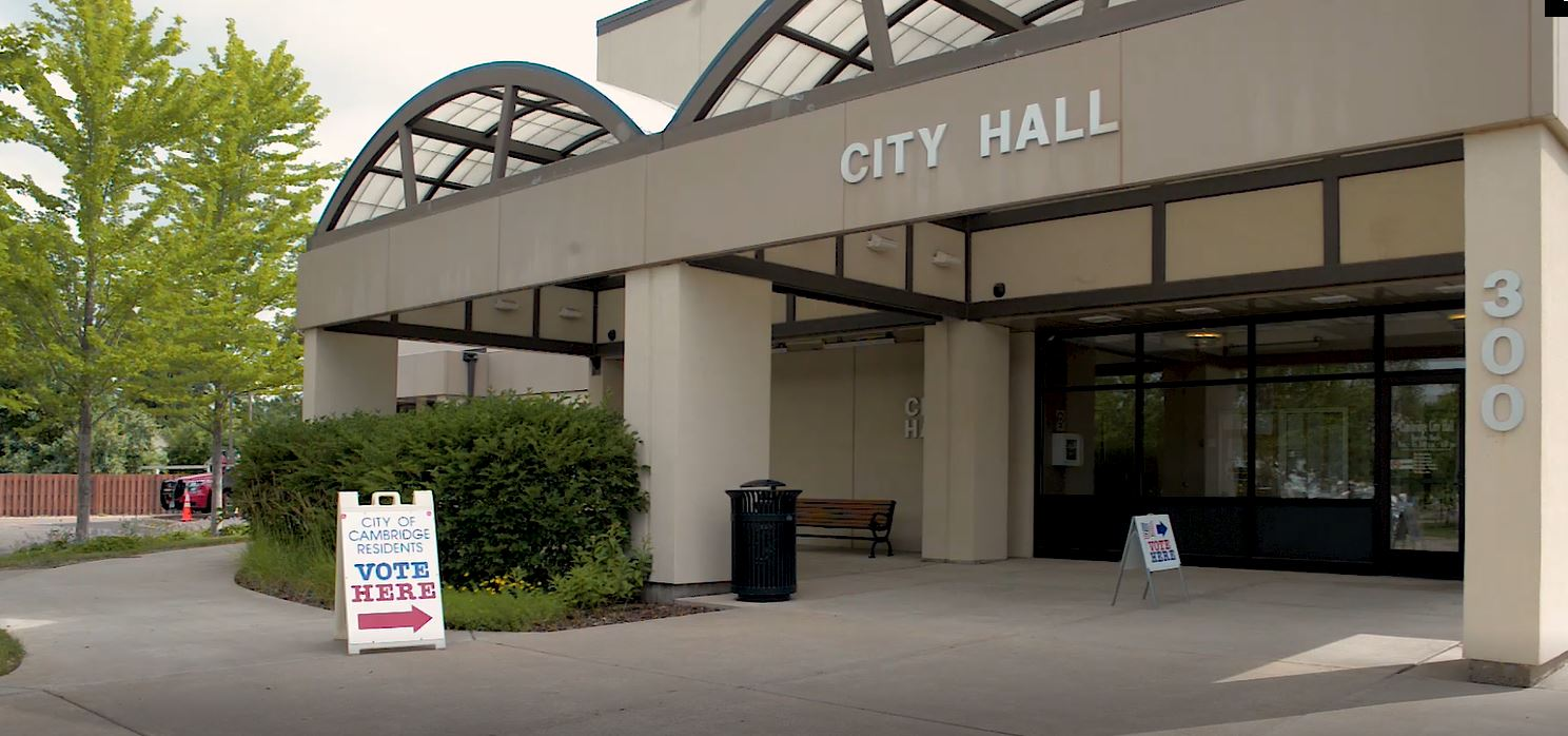 Voting at City Hall