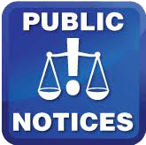 Notice of Public Meeting: Stormwater Program