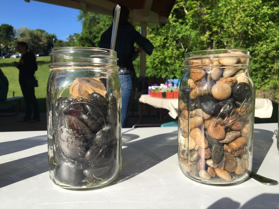 Jars of Rocks