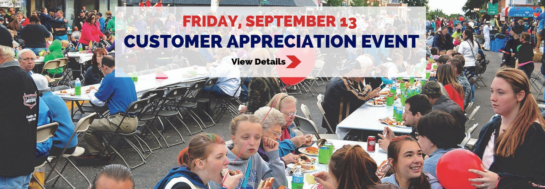 Customer Appreciation Day - September 13