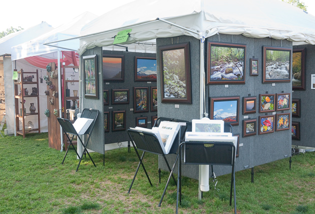 Artists Booths